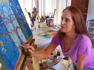 Judith-shaw-at-work-in-studio